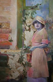 Pink Pinafore by Katie Wilson
