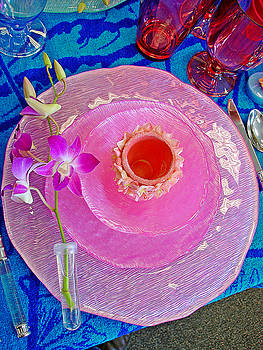 Robert Meyers-Lussier - Pink Place Setting