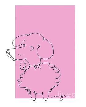 Pink Poodle by Marilyn MacGregor