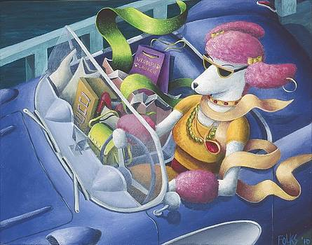 Pink Poodle's Day Out by Eva Folks