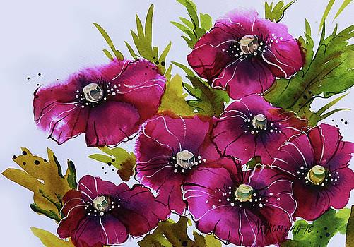 Pink Poppies by Khromykh Natalia