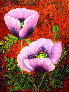 Pink Poppies by Lynn Lawson Pajunen