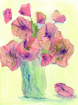 Pink Poppies by Veronica Rickard