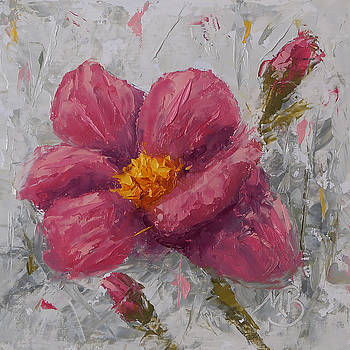 Pink Poppy #1 by Monica Burnette