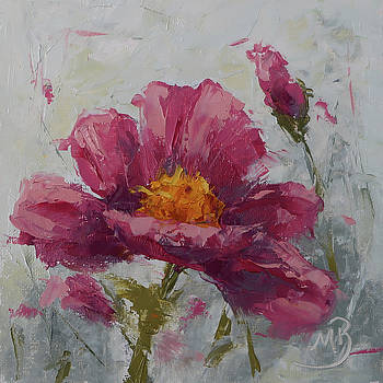 Pink Poppy #2 by Monica Burnette