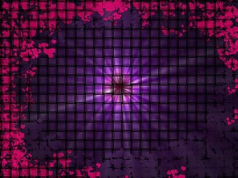 Pink-Purple Weave by Byoma Mariah