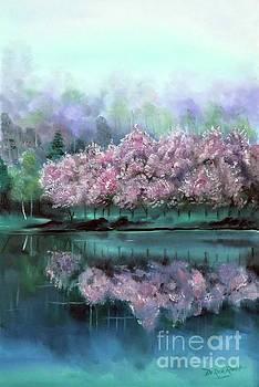 Derek Rutt - Pink Reflections In Japan