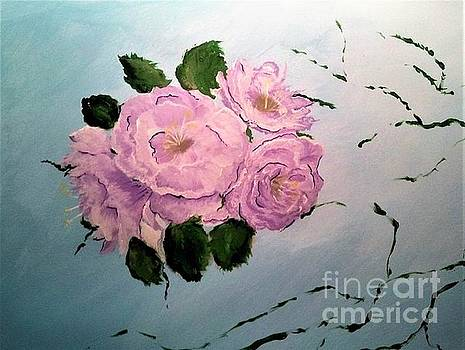Pink Rose by Crystal Schaan
