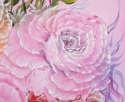 Pink Rose romance by Angela Whitehouse