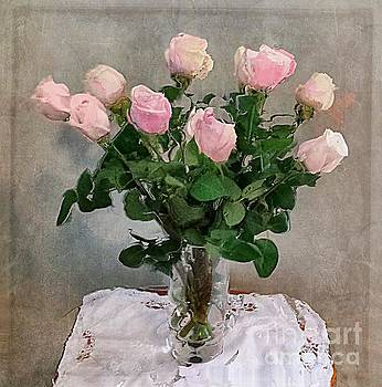 Pink Roses by Alexis Rotella
