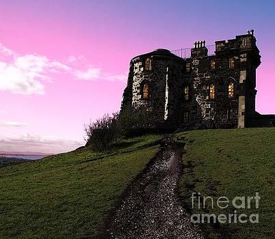 Pink Sky Scotland by Don Kenworthy