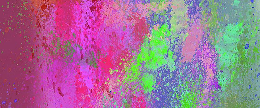 Bamalam Photography - Pink Spatter Art