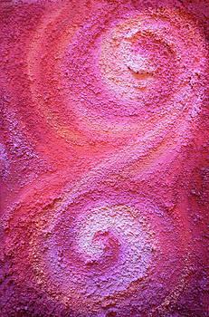 Pink Spirals by Alexandra Florschutz