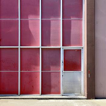 Pink Squares by Julie Gebhardt