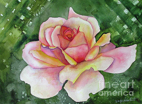 Pink Summer Rose by Donlyn Arbuthnot