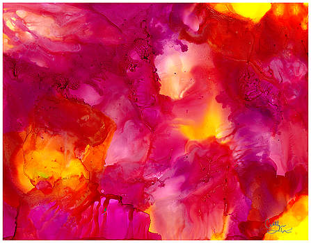 Pink Sun by Cathlyn Driscoll