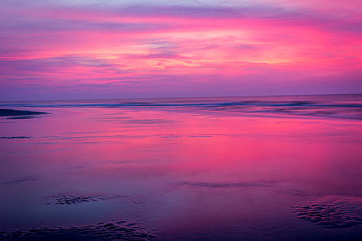 Pink Sunrise at Hilton Head by Andrew King