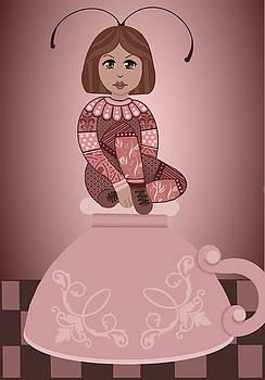 Pink Tea Cup by Lee DePriest