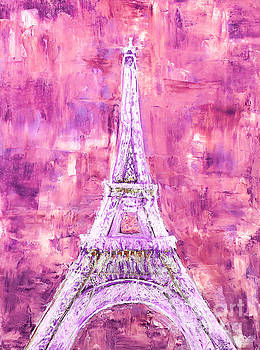 Pink Tower by Elizabeth Lock