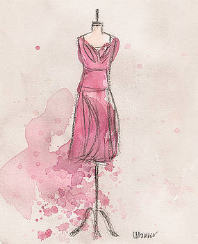 Pink Tulip Dress by Lauren Maurer