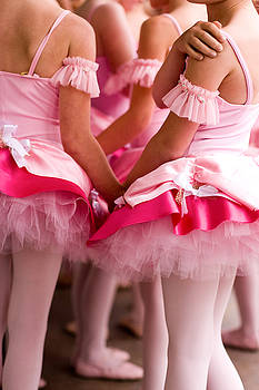 Pink Tutus by Denice Breaux