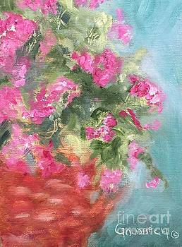 Pink Verbena by Kathy Lynn Goldbach
