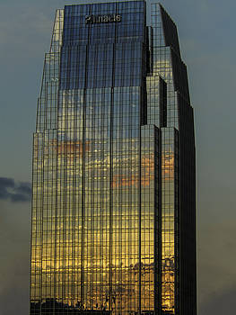 Pinnacle Sunset Reflection by Kelly E Schultz