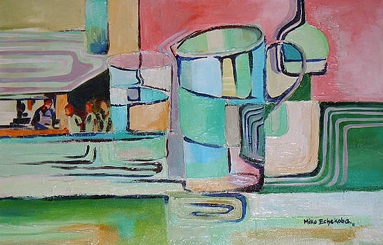 Pint and  Half by Michael Echekoba