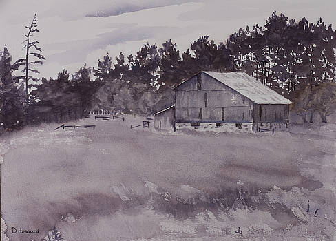 Pioneer Barn by Debbie Homewood