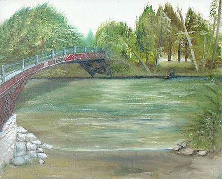Pioneer bridge by Angela Stout