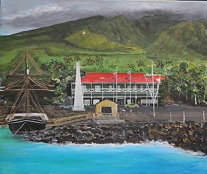 Pioneer Inn Lahaina Maui by Bob Hasbrook