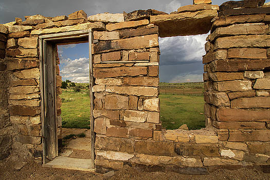 Pioneer Rock House by Lois Lake
