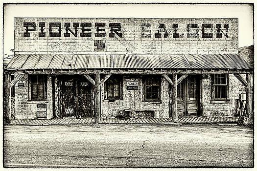 Pioneer Saloon  by James Marvin Phelps