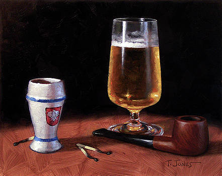 Pipe and Beer by Timothy Jones