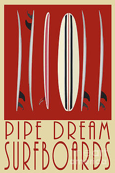 Pipe Dream Surfboards by Edward Fielding