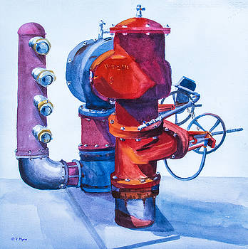 Pipes 4 by Vickie Myers