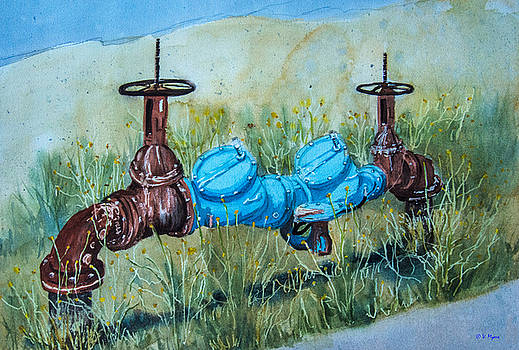 Camp Pendleton Pipes by Vickie Myers