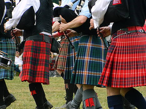 Pipes and Kilts by Kathy Barney