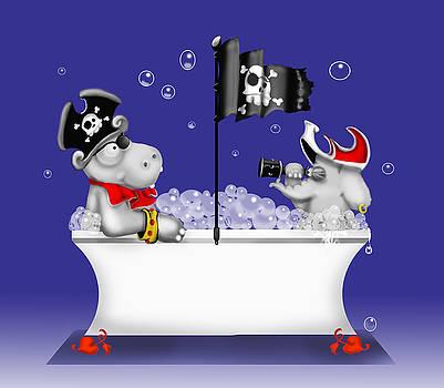 Pirate Bath by Yvonne Willemsen