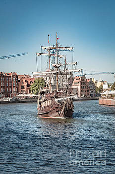 Mariusz Talarek - Pirate ship, Gdansk