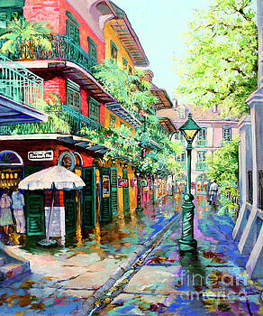 Pirates Alley - French Quarter Alley by Dianne Parks