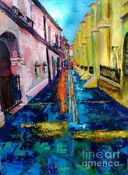Pirates Alley from the Square by Beverly Boulet