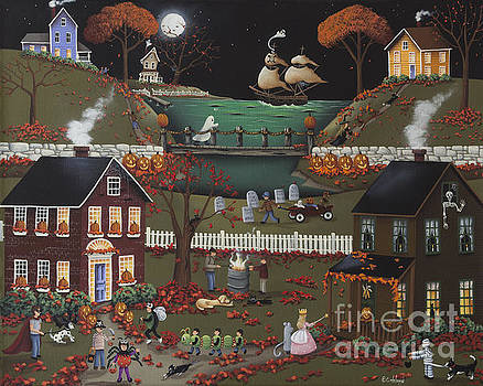 Pirate's Cove Halloween by Catherine Holman