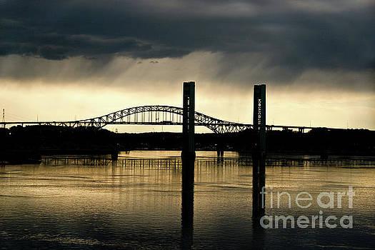 Piscataqua River Bridge by Carolyn Abell Hodges