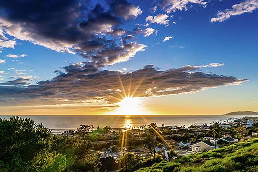 Pismo Beach California Sunset by Christopher Petro