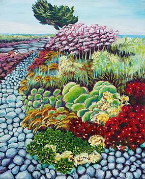 Pismo Beach Garden by Pam Van Londen