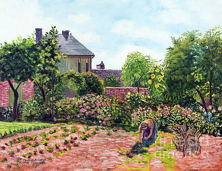 Pissarro's Garden at Eragny by Jeannie Allerton