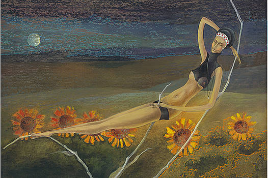 Pitch on the bent grass by Una Lune