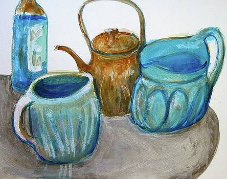 Pitcher anbd Bottle by Clarence Major