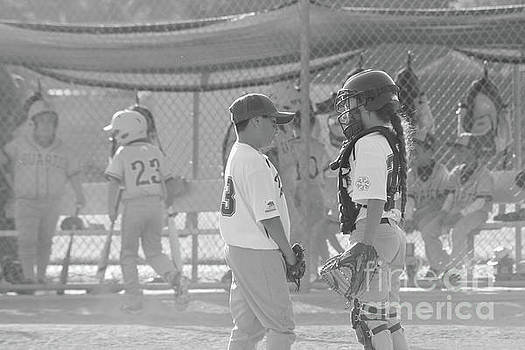 Pitcher and Catcher by Leah McPhail